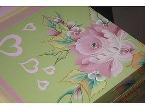 Декорируем шкатулочку «Для любимых». Ярмарка Мастеров - ручная работа, handmade.