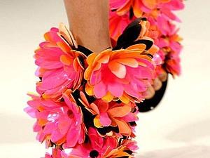 Ох, уж эти ножки в босоножках, или Туфельки для современных фей. Ярмарка Мастеров - ручная работа, handmade.