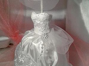 Миниатюра. Подвенечное свадебное платье.   Ярмарка Мастеров - ручная работа, handmade