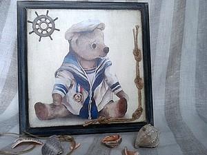 По морям, по волнам: декорируем панно. Ярмарка Мастеров - ручная работа, handmade.