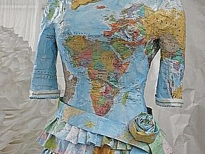 Бумажные платья Часть 2 | Ярмарка Мастеров - ручная работа, handmade