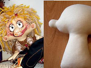Крепкая шея куклы без заломов. Мой маленький секрет | Ярмарка Мастеров - ручная работа, handmade