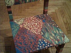 Декорирование детского стульчика. Ярмарка Мастеров - ручная работа, handmade.