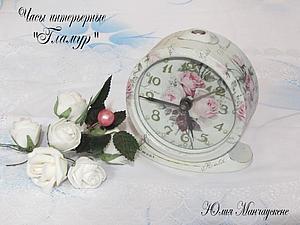 Декорируем часы интерьерные