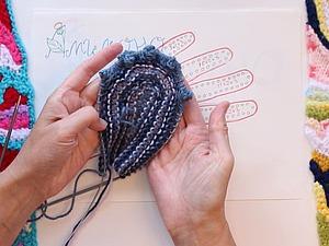 Видео мастер-класс: изобретаем перчатки. Часть 3. Пальчики, начало. Ярмарка Мастеров - ручная работа, handmade.