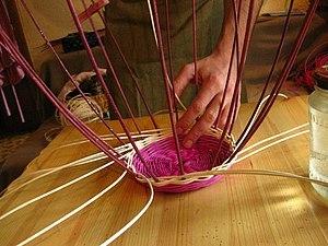 Мастер-класс по плетению Корзины из натуральной ЛОЗЫ | Ярмарка Мастеров - ручная работа, handmade