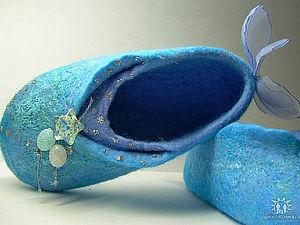 30 ноября МК по валянию Тапочек. Москва | Ярмарка Мастеров - ручная работа, handmade