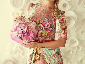 скидка 20% на яркое трикотажное платье! | Ярмарка Мастеров - ручная работа, handmade
