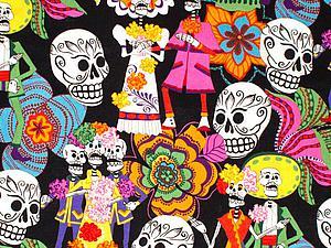 Viva, Mexicо! Мексиканские мотивы в тканях для пэчворка. Ярмарка Мастеров - ручная работа, handmade.