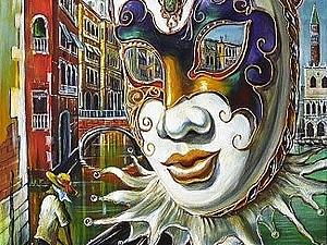 Венецианский карнавал   Ярмарка Мастеров - ручная работа, handmade