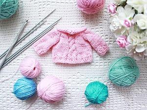 Вязаная одежда для кукол и других игрушек   Ярмарка Мастеров - ручная работа, handmade