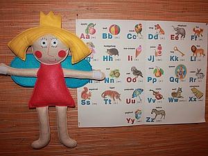 Шьем куклу - фею для украшения детской комнаты. Ярмарка Мастеров - ручная работа, handmade.