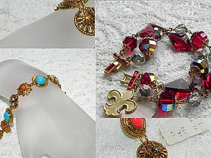 АНОНС!Винтажные браслеты с этикетками в новом состоянии. | Ярмарка Мастеров - ручная работа, handmade