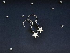 Товар недели: Серьги «Ночное небо» со скидкой -21%   Ярмарка Мастеров - ручная работа, handmade