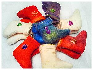 Валенки сувенирные | Ярмарка Мастеров - ручная работа, handmade