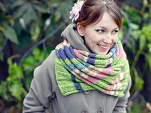 Минипрогулка шарфиков :) | Ярмарка Мастеров - ручная работа, handmade