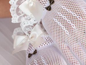 Свадебные перчатки - важный акцент | Ярмарка Мастеров - ручная работа, handmade