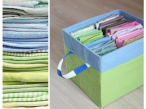 Мастерим декоративную коробку для хранения тканей. Ярмарка Мастеров - ручная работа, handmade.