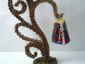 Фонарики из пластиковых бутылок. Ярмарка Мастеров - ручная работа, handmade.