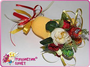 Делаем «Школьный колокольчик» с конфетами. Ярмарка Мастеров - ручная работа, handmade.