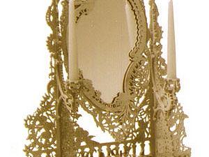 Настольное зеркало в Итальянском стиле.. Ярмарка Мастеров - ручная работа, handmade.