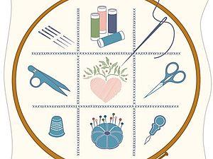 Инструменты приспособления для вышивки