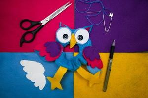 Игрушка на объектив Совуша | Ярмарка Мастеров - ручная работа, handmade