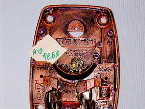 Делаем стильную техно-ключницу. Ярмарка Мастеров - ручная работа, handmade.