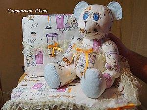 Постелька и погремушка для новорождённого. | Ярмарка Мастеров - ручная работа, handmade
