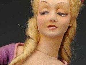 День шестой. Будуарная кукла! | Ярмарка Мастеров - ручная работа, handmade