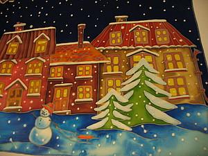 Новогодняя и Рождественская акция! Батик и картины в разных техниках для вас!   Ярмарка Мастеров - ручная работа, handmade