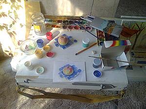 Рабочее место в ограниченных условиях. Ярмарка Мастеров - ручная работа, handmade.