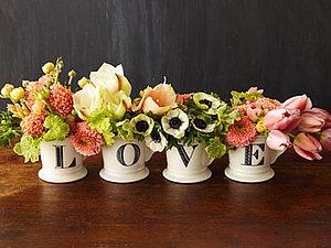 Цветы и милые аксессуары на День святого Валентина | Ярмарка Мастеров - ручная работа, handmade