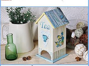 Декорируем чайный домик. Ярмарка Мастеров - ручная работа, handmade.