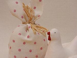 Простые идеи для Пасхи. Часть первая: шьем мешочки с ушками. Ярмарка Мастеров - ручная работа, handmade.