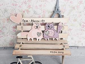 Котики на свадьбу | Ярмарка Мастеров - ручная работа, handmade
