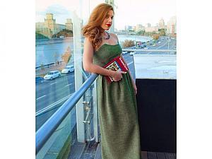 Лоя в кашемировом платье из зимней коллекции   Ярмарка Мастеров - ручная работа, handmade