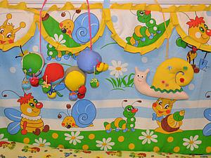 Мастер-класс: пошив бортиков в детскую кроватку. Ярмарка Мастеров - ручная работа, handmade.