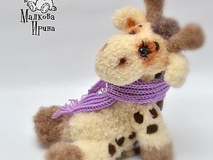 Жирафка Кариша | Ярмарка Мастеров - ручная работа, handmade