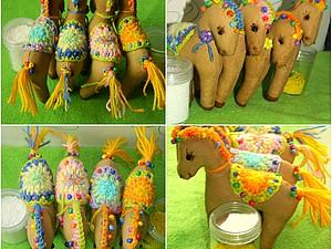 Пряничные Этно-лошадки. | Ярмарка Мастеров - ручная работа, handmade