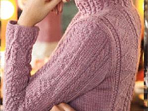 Вязание втачного рукава от проймы | Ярмарка Мастеров - ручная работа, handmade