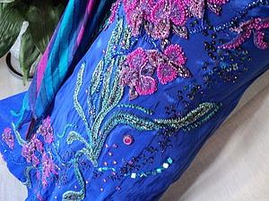 Мастер-класс: вышивка платья бисером. Часть третья: вышиваем орхидеи. Ярмарка Мастеров - ручная работа, handmade.