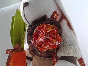 Шьем морковь для зайца. Ярмарка Мастеров - ручная работа, handmade.