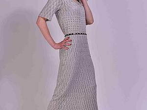 платье летнее/Плате шелковое  ажурное / платье maxi  BLAISE | Ярмарка Мастеров - ручная работа, handmade