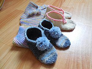Пинетки, носки, тапочки - Вязание крючком, схемы вязания