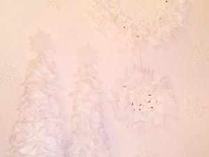 Делаем новогодний декор из бумаги