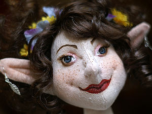 Текстильная кукла от Елены Маховой. Ярмарка Мастеров - ручная работа, handmade.