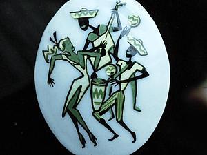 Стеклянные кабошоны | Ярмарка Мастеров - ручная работа, handmade