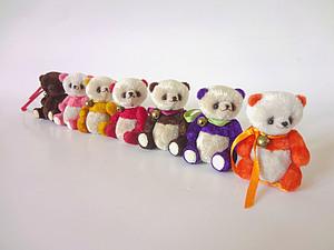 Осенний урожай панд и их друзей:) | Ярмарка Мастеров - ручная работа, handmade
