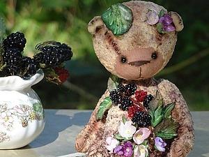 Тедди Ежевичка   Ярмарка Мастеров - ручная работа, handmade